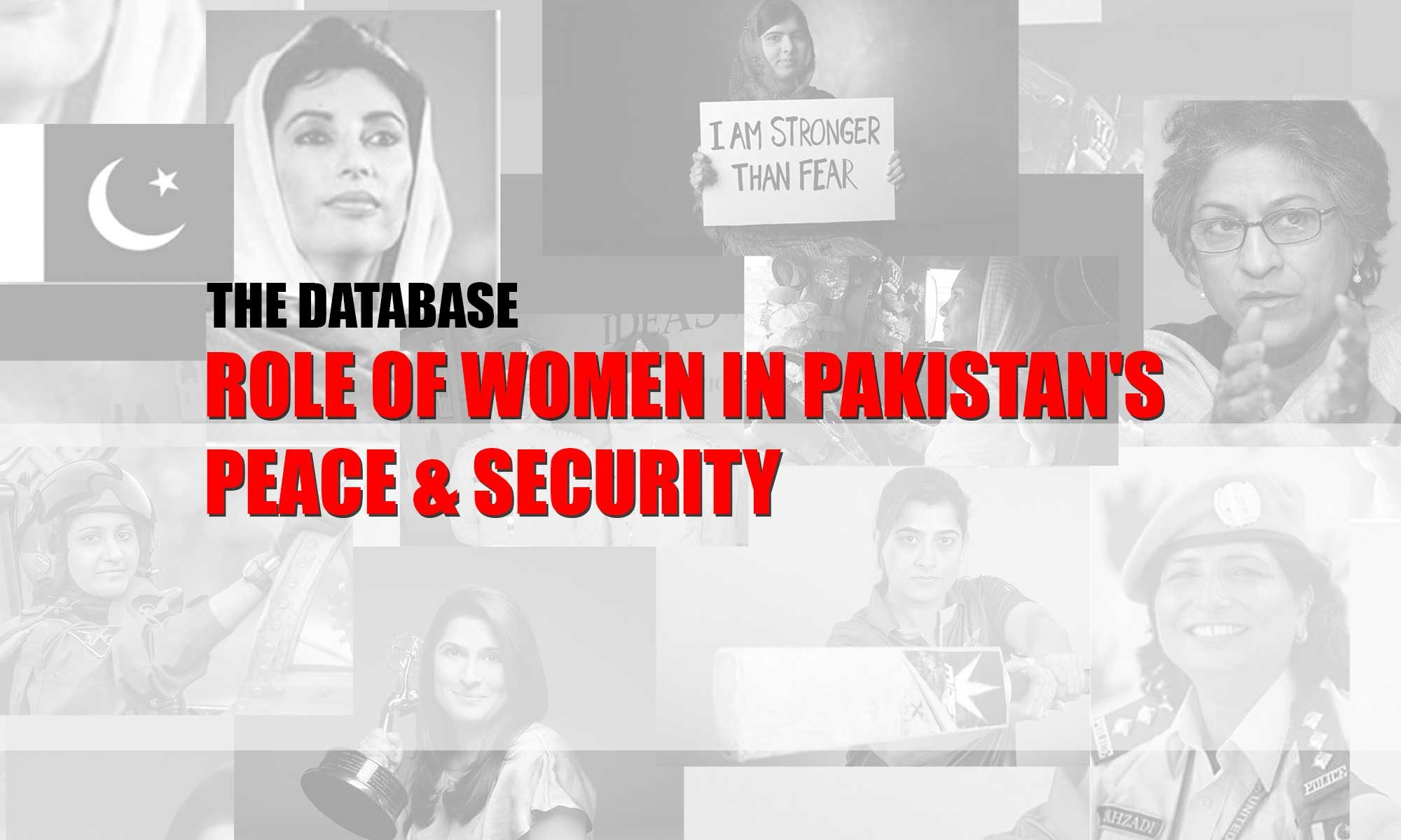 Role of Women in Pakistan's Peace & Security